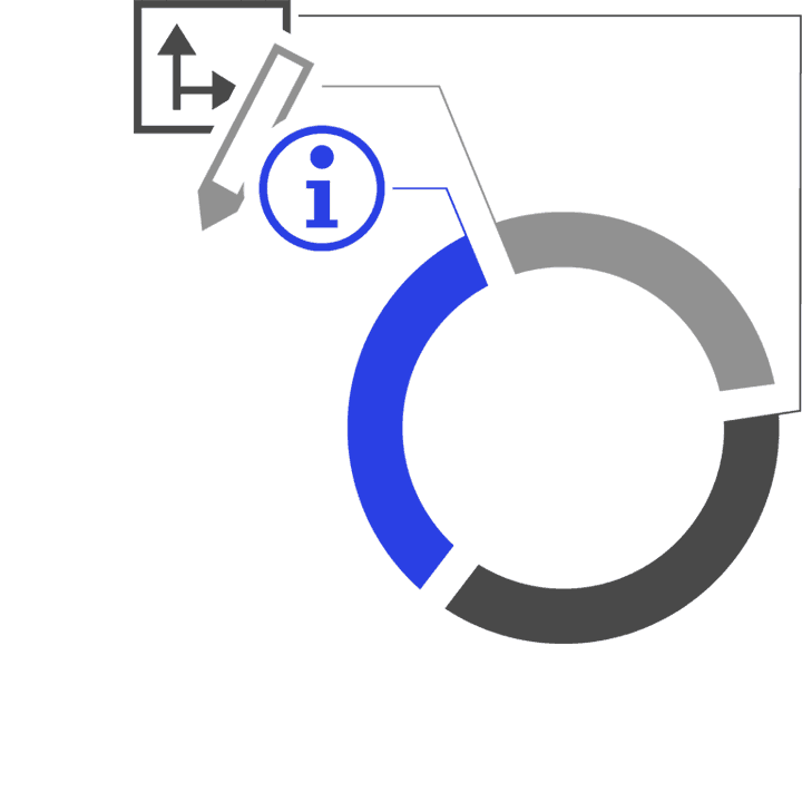 Farbkombination Icon Design