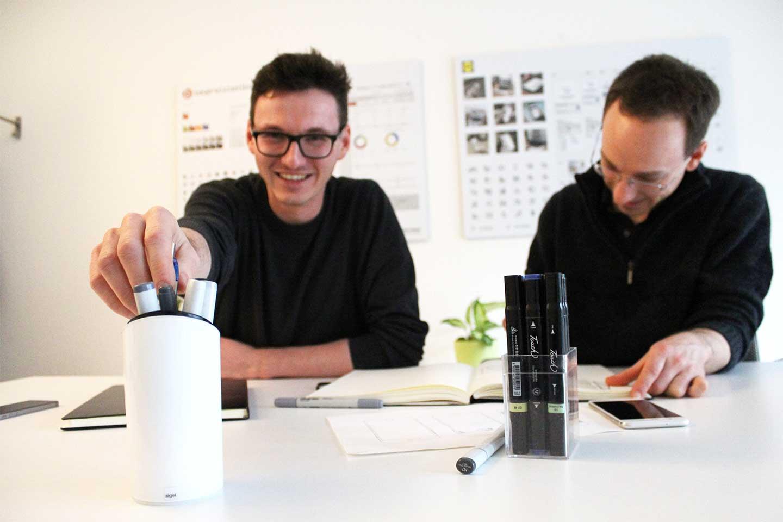 Robert Buettner und Matthias G.