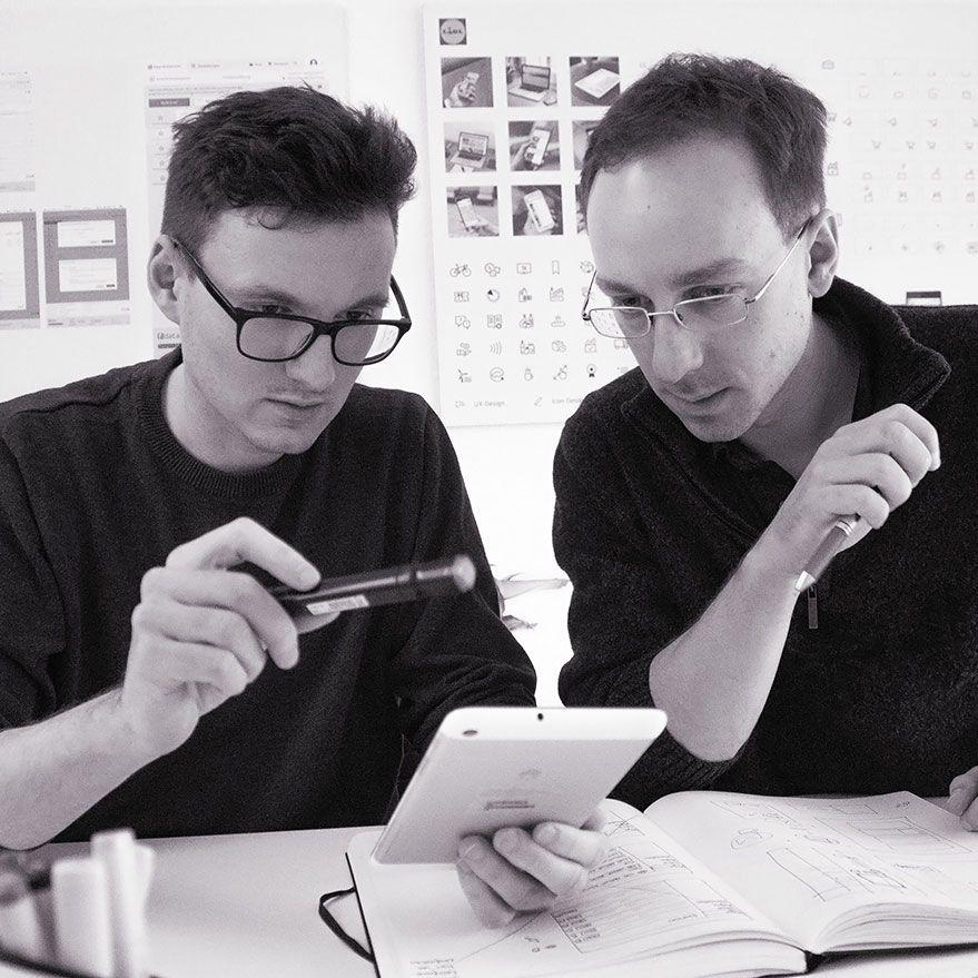 Robert Büttner und Matthias G