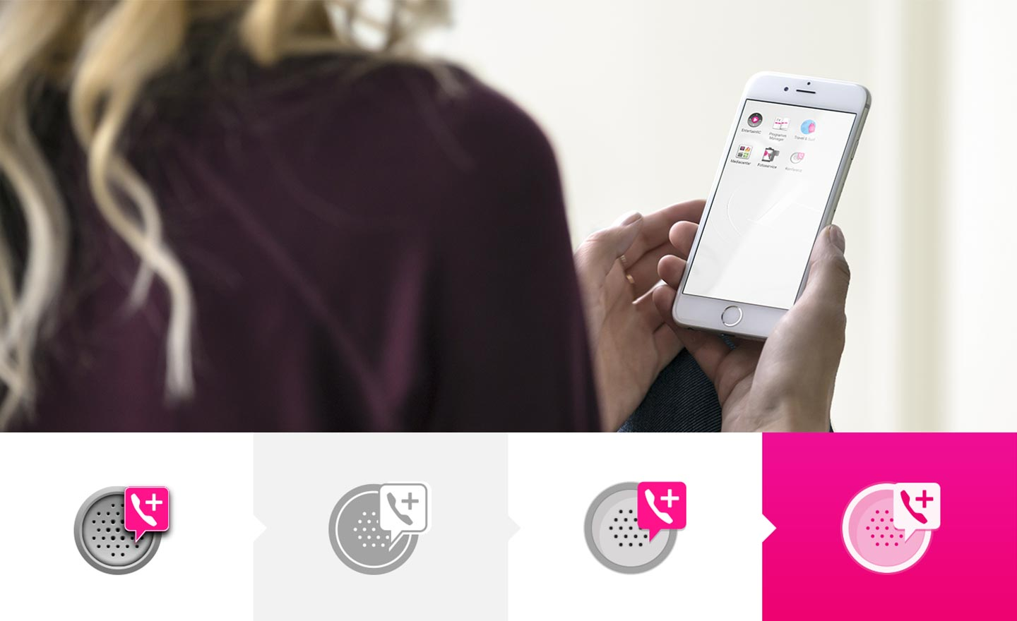 Branded App Icons Deutsche Telekom