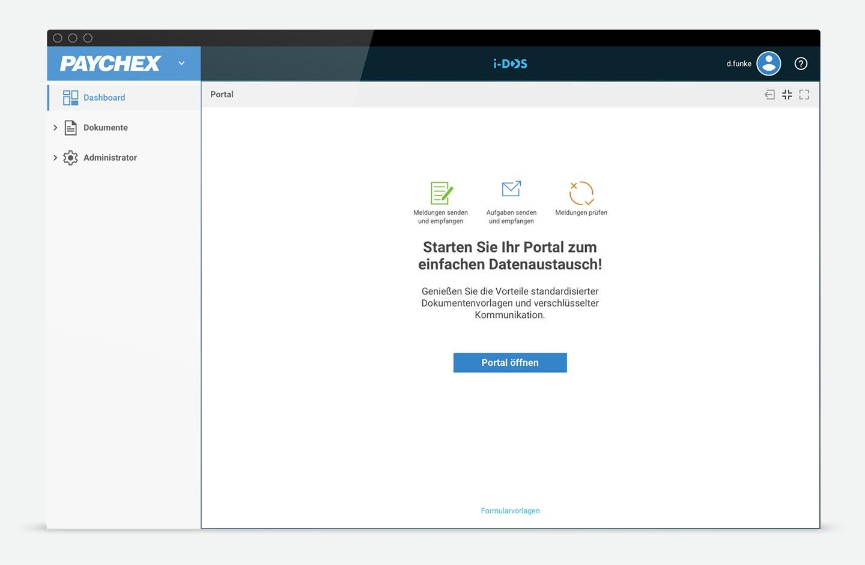 Startseite HR Portal